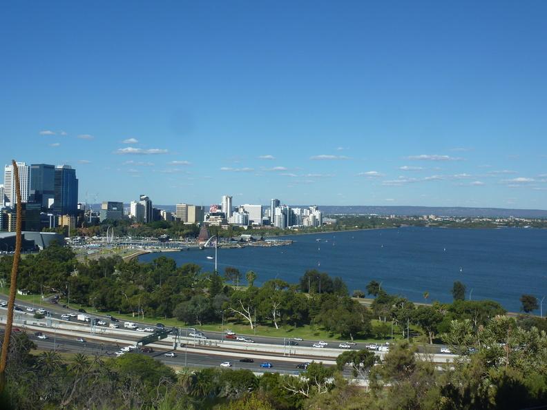 Premiers pas à Perth!